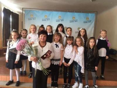 Учителька Кам'янця отримала відзнаку Міністерства освіти і науки