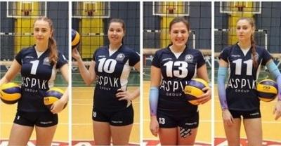 Кам'янчанки стали кращими в Чемпіонаті України з волейболу