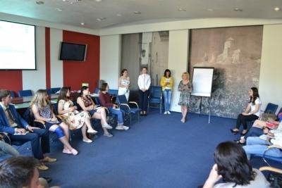 Тренери з Івано-Франківська та Запоріжжя працюють з молоддю