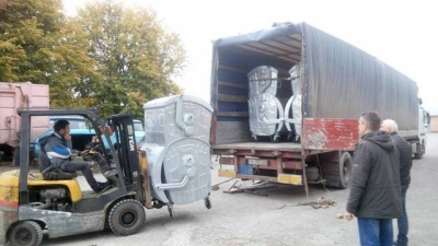 Комунальники закупили чотири десятки євроконтейнерів