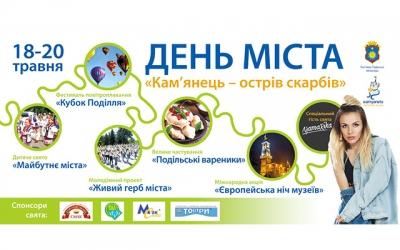 Програма заходів до Дня міста